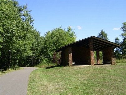 Picnic Shelter on trail owned by the UWBCC .