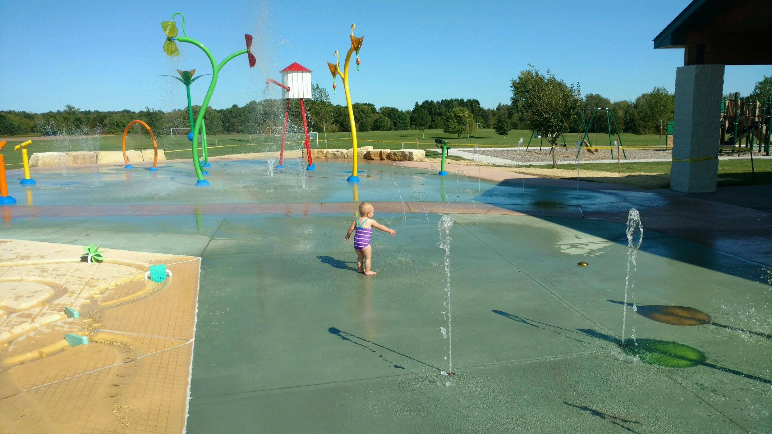 Rice Lake Splash Pad